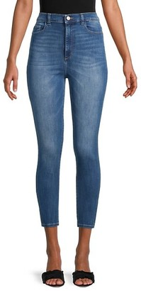DL1961 High-Rise Skinny Cropped Jeans