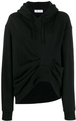Act N°1 losse-fit gathered detail hoodie
