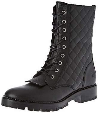 Trussardi Jeans Women's Combat Boots, (Black K299)
