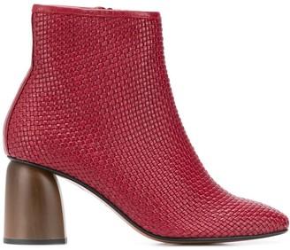 Souliers Martinez Pilar woven ankle boots