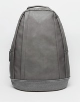 Asos Backpack With Strap Details