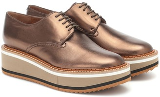 Clergerie Brook leather shoes