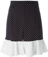 J.W.Anderson polka dot print skirt