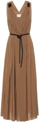 Nanushka Lilith cotton midi dress