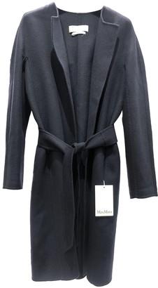 Max Mara Navy Cashmere Coats