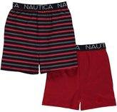 """Nautica Little Boys' """"Bold & Multi-Stripe"""" 2-Pack Boxer Briefs"""