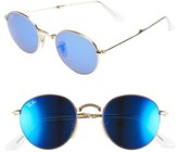Ray-Ban 50mm Folding Sunglasses