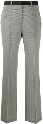 Golden Goose Woven Check Tailored Trousers