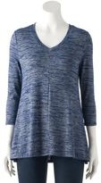 SONOMA Goods for Life Women's SONOMA Goods for LifeTM Ombre V-Neck Tunic Sweater
