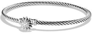 David Yurman Starburst Single-Station Cable Bracelet with Diamonds