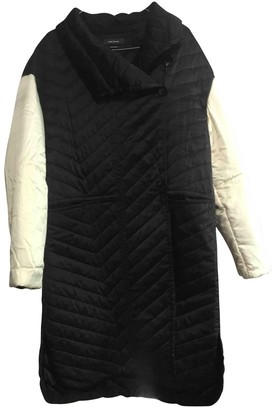 Isabel Marant Black Silk Coat for Women