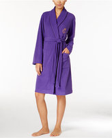 Lauren Ralph Lauren Shawl Collar Fleece Wrap Robe