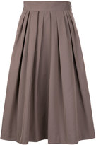 TOMORROWLAND pleated skirt