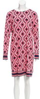 MICHAEL Michael Kors Geometric Print Shift Dress
