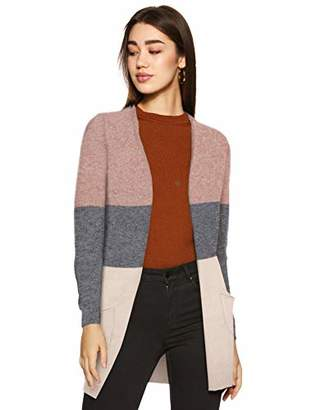 ONLY NOS Women's Onlqueen L/s Long Cardigan KNT Noos32R (Size: X-Large)