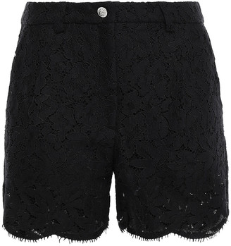 Versace Scalloped Corded Lace Short