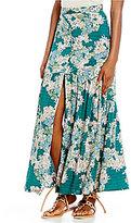 O'Neill Samara Floral Printed Button Front Maxi Skirt