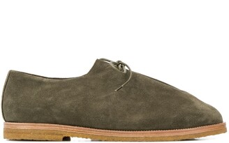 MACKINTOSH x Jacques Soloviere Ray lace-up desert shoes