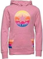 Converse Junior Girls Sunset Hoody Neo Pink Snow Heather