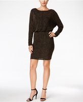 Jessica Howard Glitter Blouson Sheath Dress
