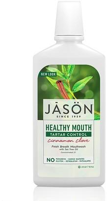Jason Healthy Mouth Tartar Control All Natural Mouthwash 473Ml