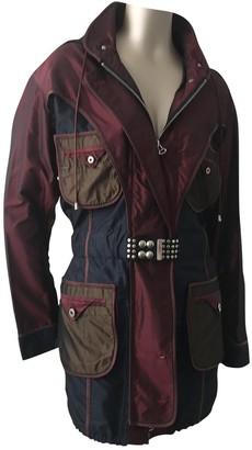 Gianfranco Ferre Navy Silk Jacket for Women
