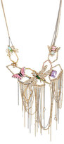 Betsey Johnson Buzz Off Insect Bib Necklace