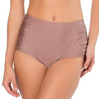 Smart & Sexy Women's Retro High-Waisted Shaping Bikini Bottom