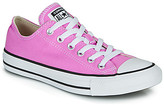 Converse Chuck Taylor All Star Seasonal Color women's Shoes (Trainers) in Pink
