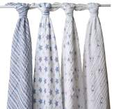 Aden Anais aden + anais® Classic 4-Pack Muslin Swaddles in Prince Charming