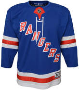 adidas New York Rangers Premier Blank Jersey, Big Boys (8-20)