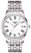 Tissot Mens Classic Dream White Quartz and Stainless Steel Watch