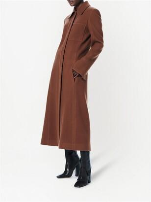 VVB Tailored Long Wool Coat