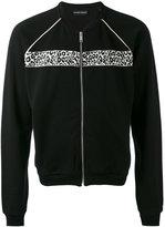 Alexander McQueen zip up cardigan - men - Cotton/Polyester/Viscose - S