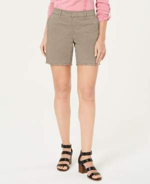 Style&Co. Style & Co Petite Released-Hem Chino Shorts, Created for Macy's