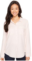 Calvin Klein Jeans Basic Denim Shirt Women's Long Sleeve Button Up