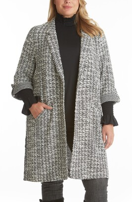 Adyson Parker Tweed Knit Topper