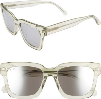 DIFF Austen 55mm Square Sunglasses