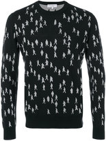 Salvatore Ferragamo sweater with people print