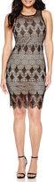 Bisou Bisou Sleeveless Lace Sheath Dress