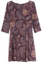 Suno Paisley Fit-and-Flare Dress
