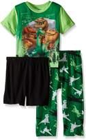 Disney Little Boys Arlo's Journey 3-Piece Pajama Set