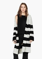 Mango Outlet Striped Cardigan