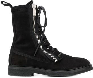 Balmain Combat Ranger Ankle Boots