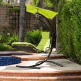 Home Loft Concepts La Vida Polyester Hanging Chaise Lounger with Stand