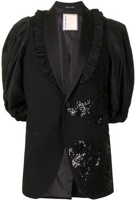Antonio Marras Floral Sequin Blazer