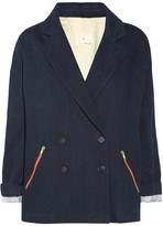 Band of Outsiders Double-breasted denim jacket