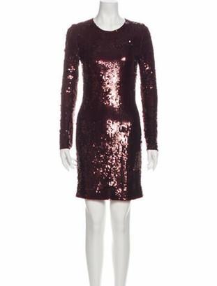 Givenchy Crew Neck Mini Dress