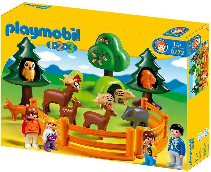 Playmobil forest animal park playset - 6772