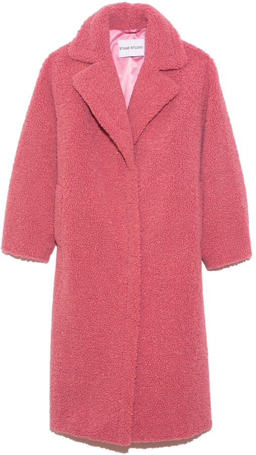 Thumbnail for your product : Stand Maria Coat in Berry Pink